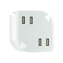 GE Wrap-n-Charge™ 4 USB Wall Charger